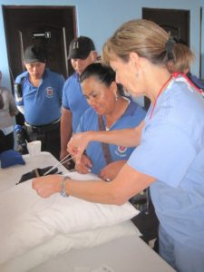 monica-teaching-suturing