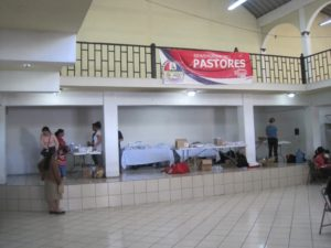Pharmacy set up in Pastores